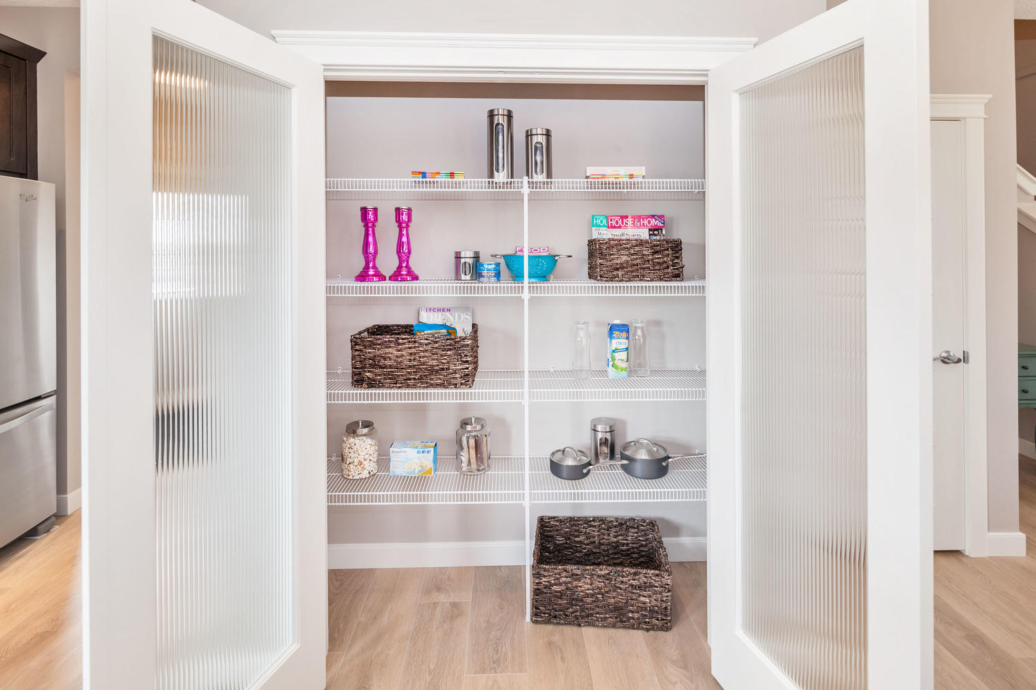 closet space in the pacesetter zero lot line home