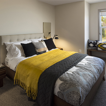 The Beckett Duplex Showhome Bedroom