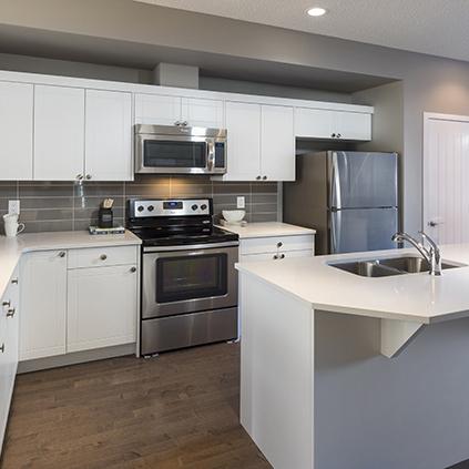 The Carter Duplex Showhome Kitchen