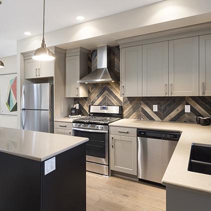 The Jackson Duplex Showhome Kitchen