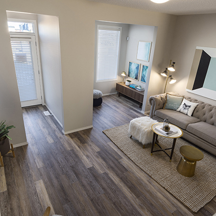 The Lola Duplex Model Showhome Great Room
