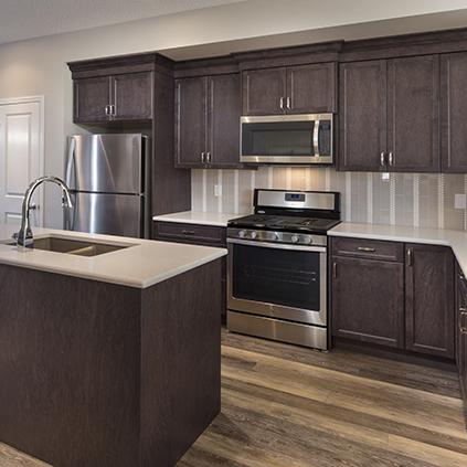 The Lola Duplex Model Showhome Kitchen