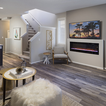 The Lola Duplex Model Showhome Main Room