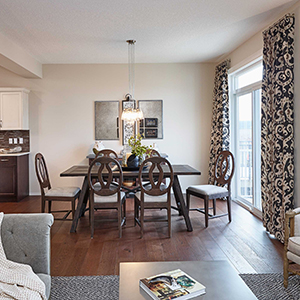 The Carleton Front Drive Home Dining Room