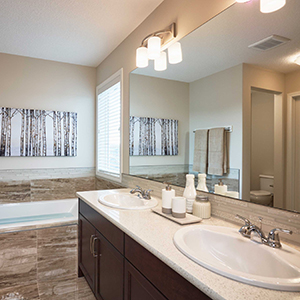 The Carleton Front Drive Home Ensuite