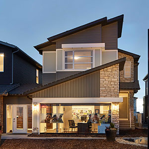 The Carleton Front Drive Home Exterior