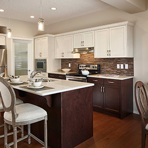 The Carleton Front Drive Home Kitchen