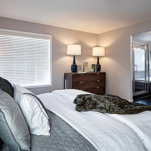 The Henderson II Front Drive Home Master Bedroom