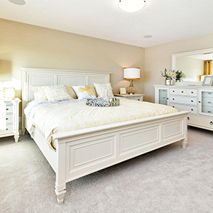 pacesetter front drive home model master bedroom