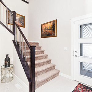 pacesetter front drive home model staircase