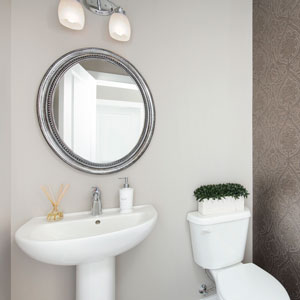 The Shane Front Drive Homes Ensuite