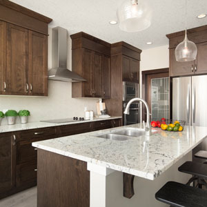 The Shane Homes Front Drive Kitchen Island