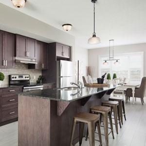 The Shane Zero Lot Line Kitchen Livingroom